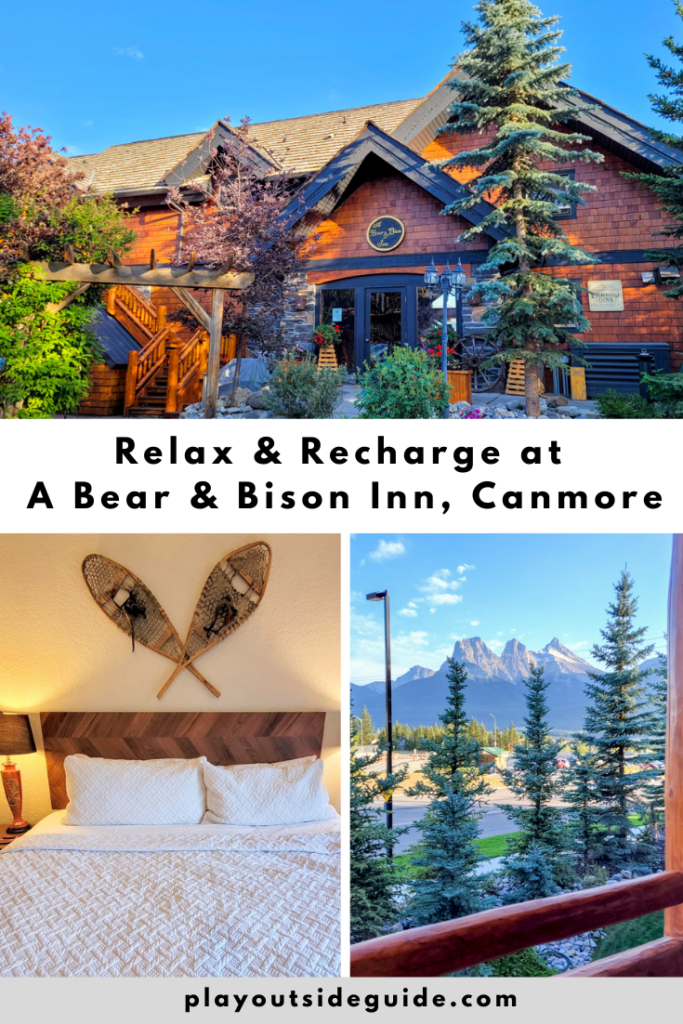 Relax & recharge at A Bear & Bison Inn, Canmore