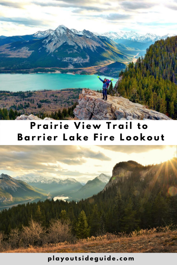 Prairie View Trail to Barrier Lake Fire Lookout (Yates Mountain)