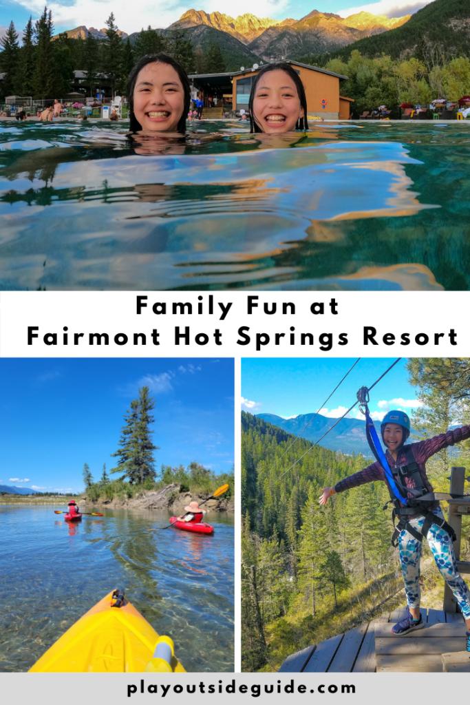 Family Fun at Fairmont Hot Springs Resort